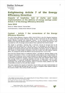 Enlightening Article 7 of the Energy Efficiency Directive