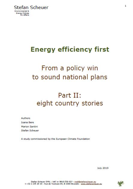 Energy Efficiency First